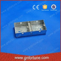 China Hot Sale 1+1 Gang Switch and Socket Boxes