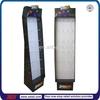 TSD-C226 Factory custom retail store floor hook corrugated display/paper retail display units/cardboard accessories display rack