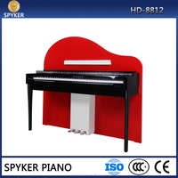 HUANGMA HD-8812 upright digital piano for used grand piano
