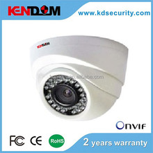 HD IP Dome Camera, ONVIF, P2P, CMS, 3.6 /6 mm fixed lens (2.0 Megapixel), 24pcs IR, 10-20m IR, 1.0/1.3/2.0Megapixel is optional