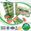 custom printed bopp packaging rubber adhesive opp tape,packaging tape,opp packing tape
