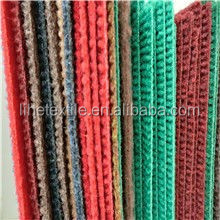 100% polypropylene/ polyester colorful striped carpet