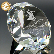 clear crystal personalized ornaments