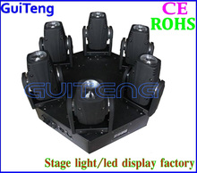 Professional Audio, Video & Lighting New product 6 Heads LED Moving Head Beam Light White