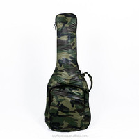 Single Electric Guitar Soft Gig Bag/Case in Camouflage Color