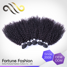 China supply reliable malaysain unprocessd human hair kinky curly micro loop hair extension sew in weave