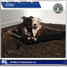 Scratch-proof Elevated Pet Bed with Knitted Fabric for Dogs & Cats