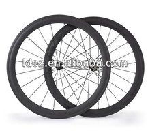 New product 50mm carbon road wheels for mountain bike
