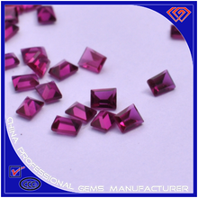 Factory direct sale trapezoid shape ruby in any size