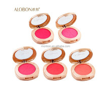 Alobon 7801 Silky Charmming Colorful Rouge smooth face powder brands