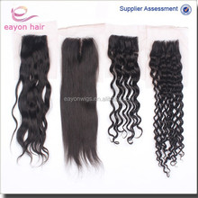 cheap brazilian human hair lace closure light brown lace closure kinky curl body wave natural wave straight lace closure