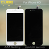 CUBE new back enough stock!!!! For Apple iPhone 6 glass screen Replacement OEM,for iphone 6 display glass