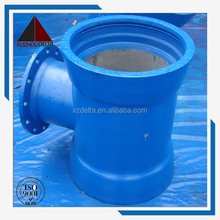 Ductile Iron Pipe Fitting Double socket tee with flanged branch DN350MM