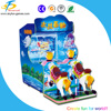 Two player coin operated water shooting machine with swing horse