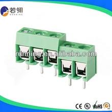 Mini. Order:500ps Green pitch:5.0/10.0mm PCB Screw electrical terminal block