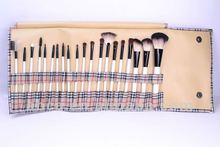 20pcs goat hair makeup brushes permanent makeup toolscosmetic Brush Set Synthetic Nylon Goat Pony Hair Factory Outlet
