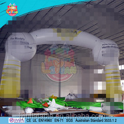 Branding Inflatable archways,advertising inflatable arches with logo