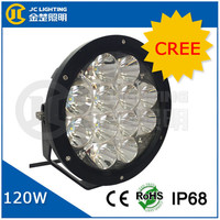 9 Inch LED Off-road Light,120W LED Work Light,12/24V Driving On Truck,Jeep,Atv,4WD,Boat,Mining LED driving light
