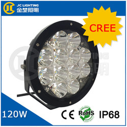 9 Inch LED Off-road Light,120W LED Work Light,12/24V Driving On Truck,Jeep,Atv,4WD,Boat,Mining LED driving light