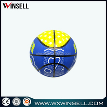 promotional rubber mini soft basketball