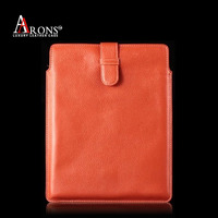 Genuine leather sleeve case tablet pouch for ipad air 2