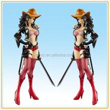 Fashion style vinyl anime cartoon One Piece sexy Nicole robin version nude action figure