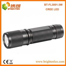 Manufacturer Wholesale Dry Battery Powered Housing Used Aluminum Pocket led torch review