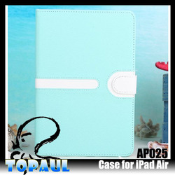 new design Dustproof Shock Proof Tablet Flip Case for ipad air 2