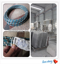 8.8/8.9 Diamond Bead Diamond Wire Saw Blade For Granite Marble Profiling Plastic Injection