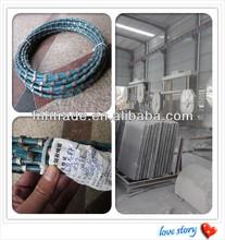 diamond disc 8.8/8.9 Diamond Bead Diamond Wire Saw Blade For Granite Marble Profiling Plastic Injection