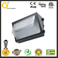 Motion sensor+Daylight sensor Dimmable LED wall pack 40W DLC for private garden,Small street wall Lighting