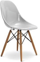 North European home eames dining chairs PP glossy in China