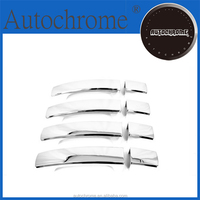 Chrome car trim accent styling Handle Cover for La nd Rover Freelander 2