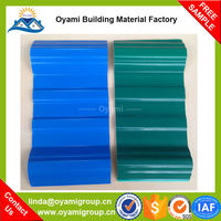 Long duration beautiful appearance tri-ply co-extruded roof sheet for construction