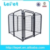 outdoor welded tube large outdoor dog run fence panel