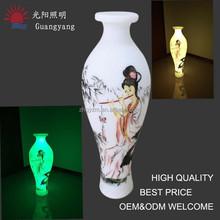 disposable flower vase hanging plastic vase commercial decoration vase