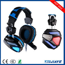 G5200 7.1 Game Earphone Computer Gaming Headset Vibration with Mic Colorful LED Light