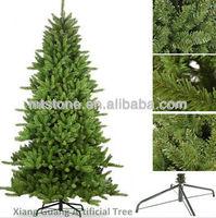 christmas decoration/ pine needle christmas tree/metal christmas tree decoration