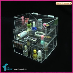 Morden Design High Quality Wholesale Customized Makeup Organizer Container Store