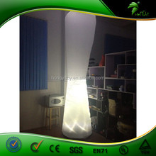 Hot Selling Inflatable Lighting Decoration Lamp Post with LED Lights