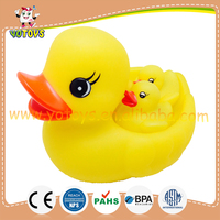 Factory wholesaler- yellow baby duck toys&baby bath toys duck/classic rubber duck