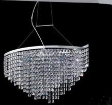 Italian design modern crystal hanging chandelier lighting for hotel project