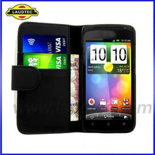 Luxury Leather Wallet Case For HTC Droid DNA X920e,For HTC Droid DNA Leather Flip Case Cover,Laudtec