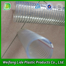 Extremely transparent flexible pvc suction hose