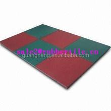 2015 hot sale!!outdoor safety playground sports rubber floor tiles /Gym Flooring mat/Gymnasium flooring