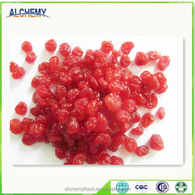 Dried Style and Sweet Taste Glace cherries