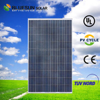 BLUESUN China best supplier high efficiency full qualified poly 250w solar panel pakistan lahore