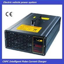 inteligente de pulso de corriente del coche del club de golf carrito cargador de batería