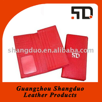 Beautiful Appearance Leather Credit Card Wallet for Ladies