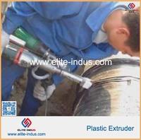 hand plastic extrusion welder for welding membrane
